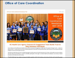 CARE COORDINATION NEWSLETTERS